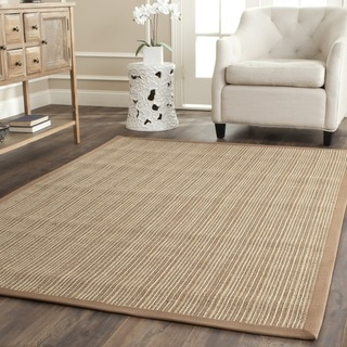 Dream Natural Fiber Beige Sisal Rug (6' Square)