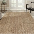 Hand-woven Weaves Natural-colored Fine Sisal Rug (11' x 15')
