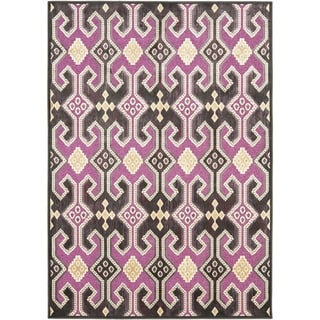 Safavieh Paradise Purple Viscose Rug (5' 3 x 7' 6)