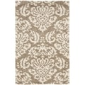 Ultimate Beige Shag Rug (6' x 9')
