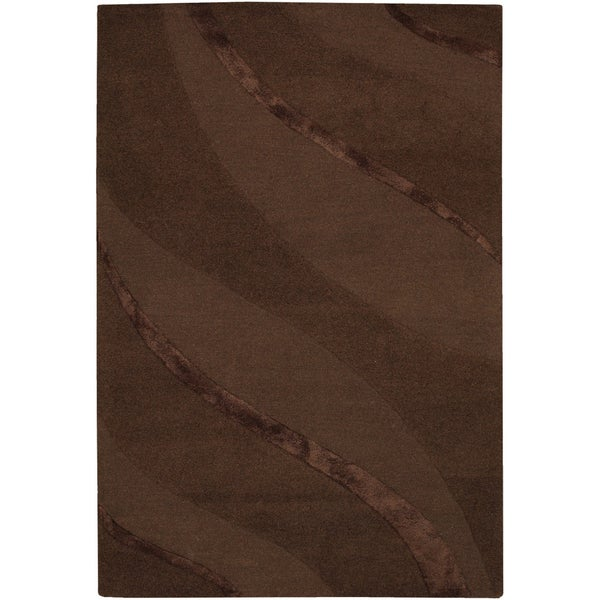 Anthians Chocolate Rug (3'5 x 5'5)