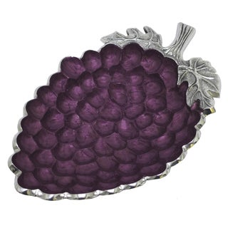 KINDWER Aluminum and Enamel Grape Bowl