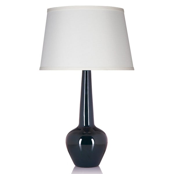 Zinnia Peacock Single-light Table Lamp