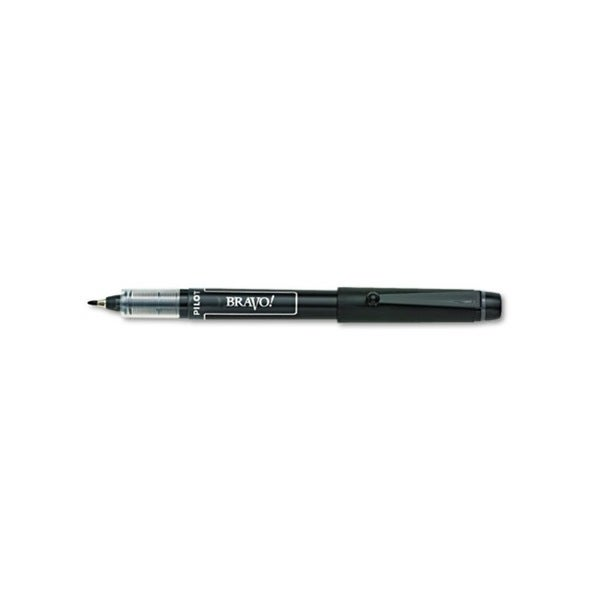 Pilot Bravo! Bold Porous Point Water-Based Black Marker Pen
