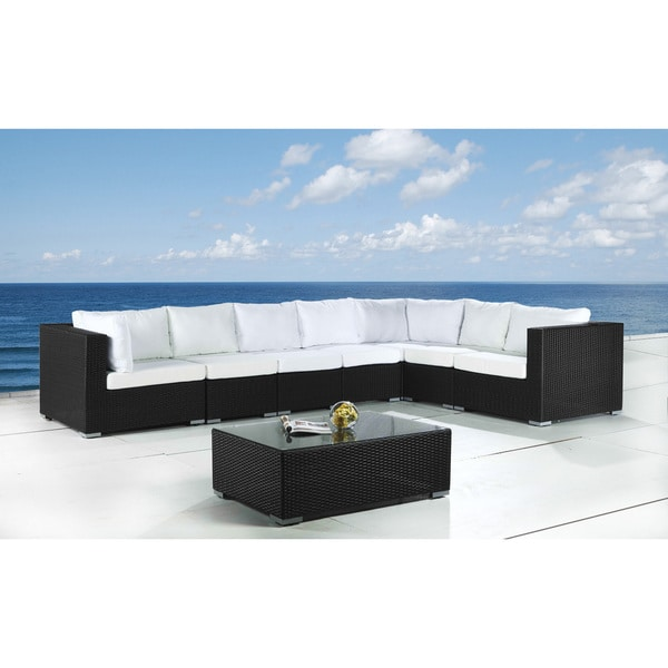 Deep Seating Modular Outdoor Lounge Furniture Grande By Beliani Overstock Shopping Big