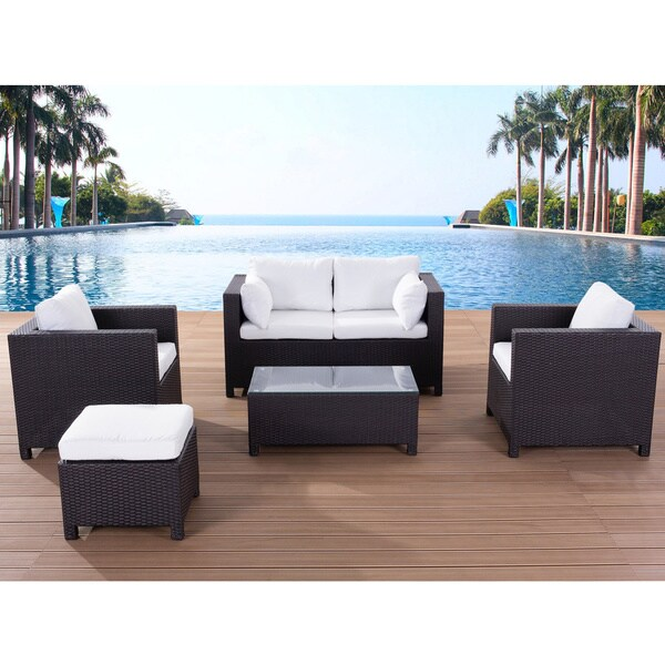 Wicker Furniture Lounge Milano Outdoor Sofa Set 15128161
