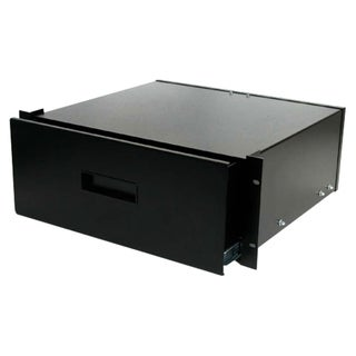 StarTech.com 4U Black Steel Storage Drawer for 19in Racks and Cabinet