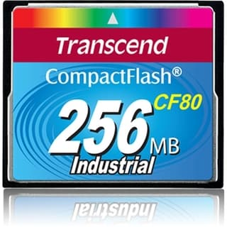 Transcend 256MB CompactFlash Card - 80x