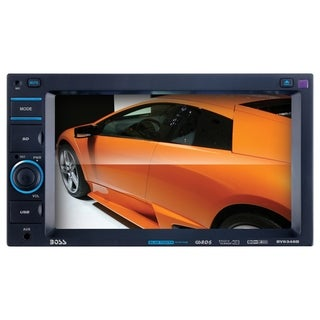 "Boss Mechless BV9348B Car DVD Player - 6.2"" Touchscreen LCD - 340 W R"