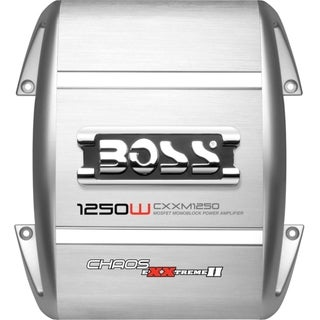 Boss Chaos Exxtreme II CXXM1250 Car Amplifier - 1250 W PMPO - 1 Chann