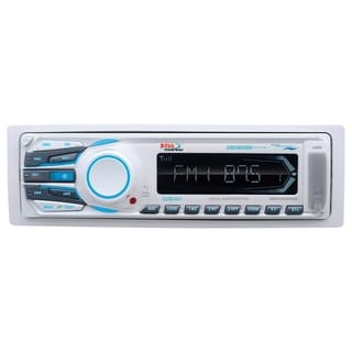 Boss Audio MR1308UAB Marine Single-DIN MECH-LESS Receiver, Bluetooth,