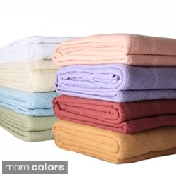 Egyptian Cotton Twin-size Blanket
