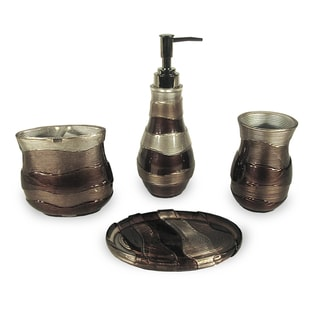 Veratex Horizons 4-piece Bath Accessory Set