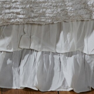 Bella Ruffled 18-inch Drop Bedskirt