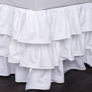 French Ruffle 18-inch Drop Bedskirt