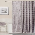 Lush Decor Royal Tide Grey Shower Curtain