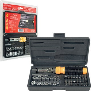 Tru Forge 41-piece 3-way Ratchet Driver Set