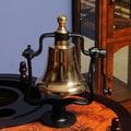 Old Modern Handicrafts Brass Victory Bell
