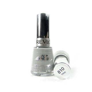 Revlon Top Speed #810 Hazy Nail Enamel (Pack of 2)