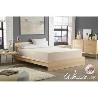 WHITE by Sarah Peyton 10-inch Convection Cooled Plush Support Twin-size Memory Foam Mattress