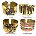 Handcrafted Brass and Copper Cuffs (South Africa)