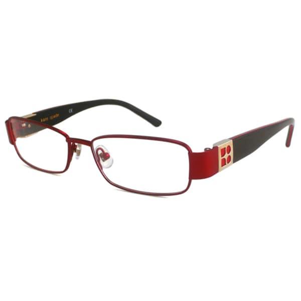 Kate Spade Readers Womens Jordan Rectangular Reading Glasses