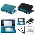 BasAcc Case/ Screen Protector/ Chargers/ Stylus for Nintendo 3DS