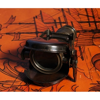 Old Modern Handicrafts Collapsible Monocular with Wooden Box