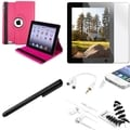 BasAcc Case/ Screen Protector/ Splitter/ Headset for Apple iPad 3