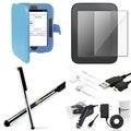 BasAcc Case/ Screen Protector/ Chargers for Barnes & Noble Nook 2
