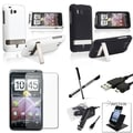 BasAcc Case/ Screen Protector/ Holder/ Stylus for HTC ThunderBolt 4G