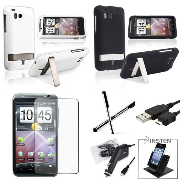 BasAcc Case/ Screen Protector/ Holder/ Stylus for HTC ThunderBolt 4G