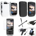 BasAcc Case/ Screen Protector/ Holder/ Cable for Blackberry Torch 9800