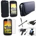 BasAcc Case/ Screen Protector/ Holder/ Stylus for HTC myTouch 4G