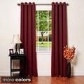 Grommet-top Thermal Insulated 120-inch Blackout Curtain Panel Pair