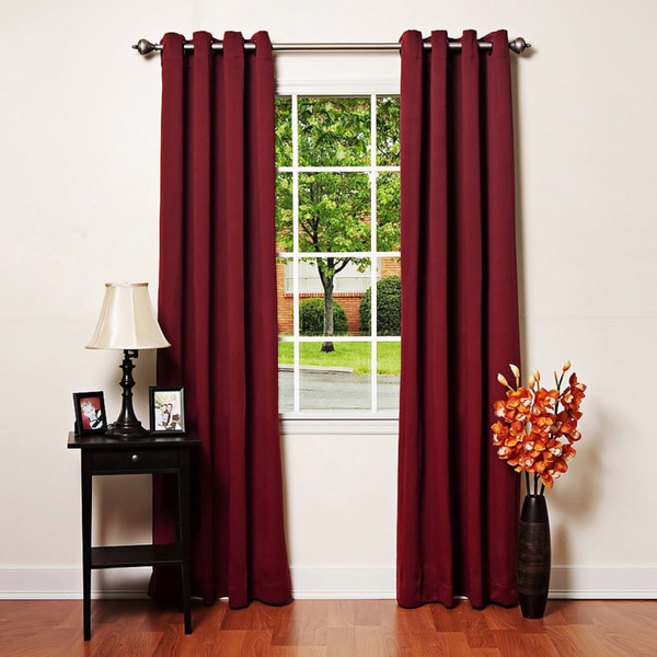 Lights Out Grommet-top Thermal Insulated 120-inch Blackout Curtain Panel Pair