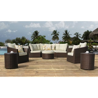 Sirio Wicker Resin 8-piece Outdoor Furniture Set