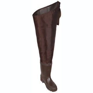 Allen Black River Hip Boot- Cleated Size 11