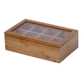 Oceanstar Bamboo Tea Box