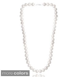 Glitzy Rocks Colored Freshwater Pearl Necklace (8-9 mm)