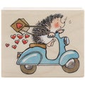 "Penny Black Rubber Stamp 2.5""X3""-Sweet Ride"