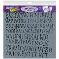 "Crafter's Workshop Templates 12""X12""-Roman Letters"