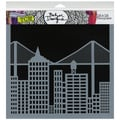 "Crafter's Workshop Templates 12""X12""-Cityscape"