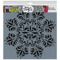 "Crafter's Workshop Templates 12""X12""-Fleur De Lis Doily"