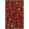 Botanique Morgan/ Crimson Area Rug (8' x 10')