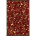 Botanique Morgan/ Crimson Area Rug (9' x 12')