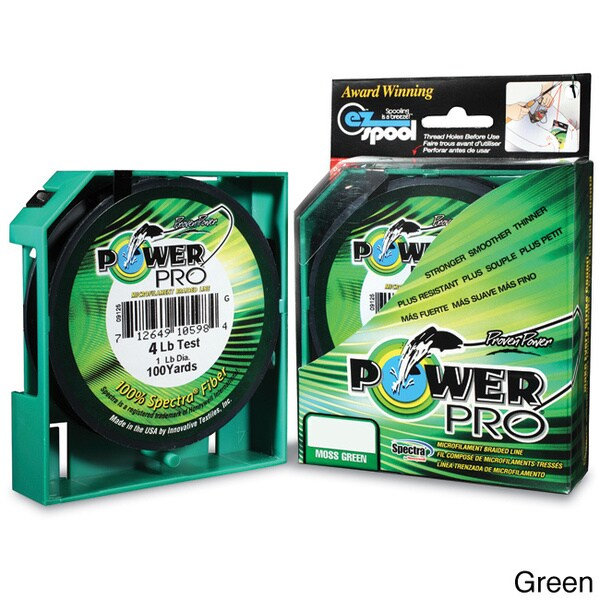 Power Pro Braided 40-Pound 150-Yard Microfilament Fishing Line