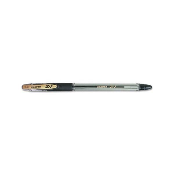 Zebra Z-1 Ballpoint Stick Pens (Pack of 12)