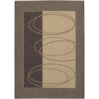 Five Seasons Boulder/ Brown-Cream Area Rug (8'6 x 13')
