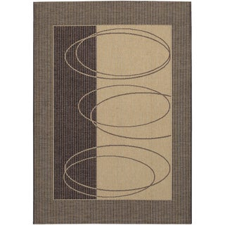 Five Seasons Boulder/ Brown-Cream Area Rug (5'3 x 7'6)